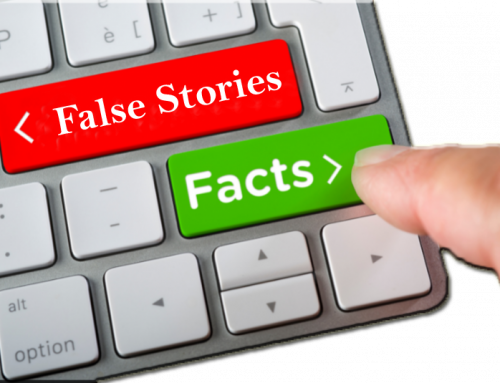False Stories vs. Real News
